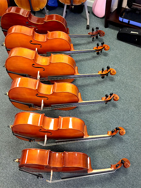 Cellos Available for Rental