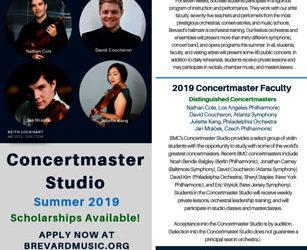 Concertmaster Studio Summer 2019