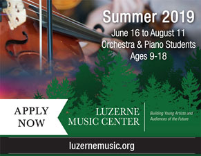 Luzerne Music Center – Summer 2019