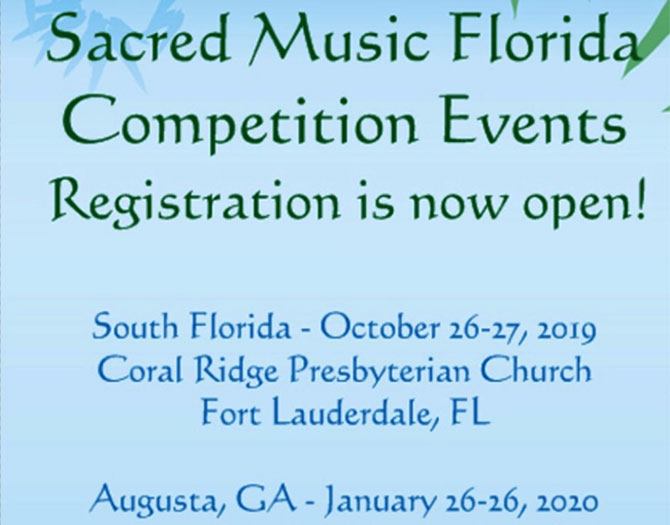 Sacred Music Florida 2020