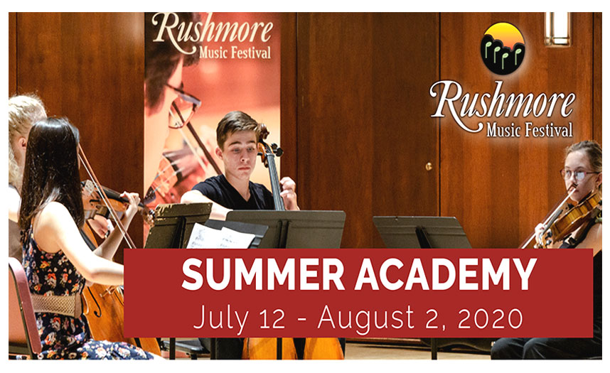 Rushmore Music Festival – Summer Academy 2020