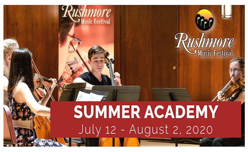 Rushmore Music Festival – Summer Academy 2020