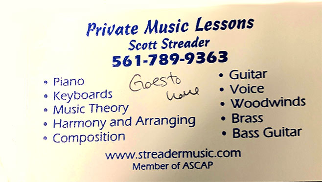 Scott Streader Music